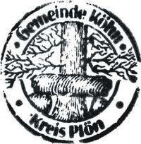 Alter Stempel der Gemeinde Köhn